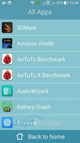 ASUS ZenFone 6 - Easy Mode App Drawer