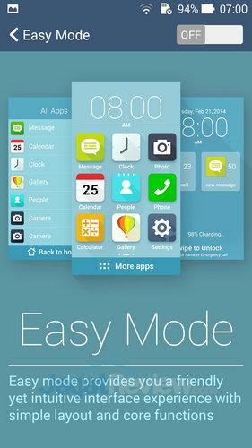 ASUS ZenFone 6 - Easy Mode