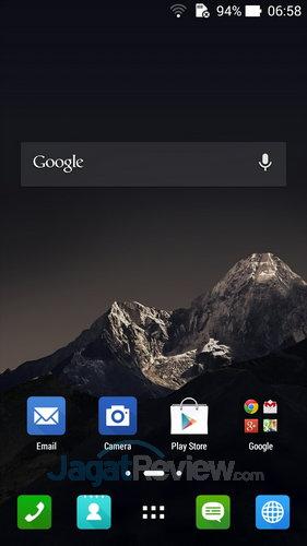 ASUS ZenFone 6 - Homescreen utama