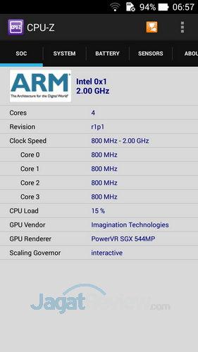 ASUS ZenFone 6 - Spek CPU