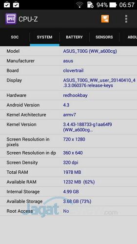 ASUS ZenFone 6 - Spek SoC