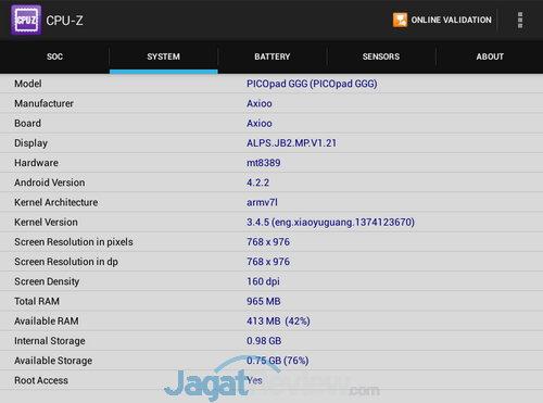 Axioo PICOpad 7 3G CPU Z (2)