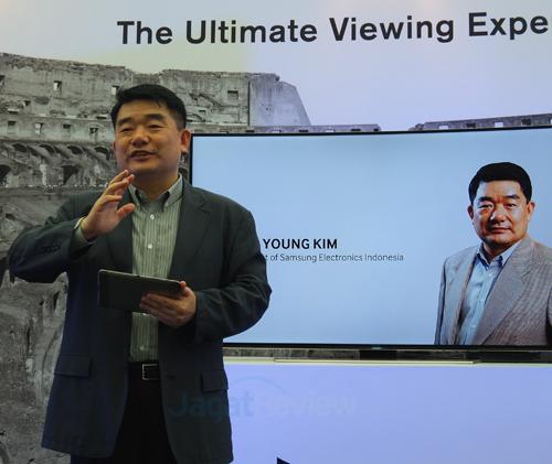 Yoo Young Kim, President of Samsung Electronics Indonesia