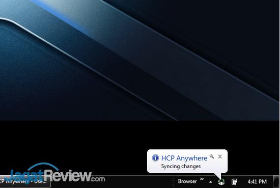 HCP Anywhere - Sync