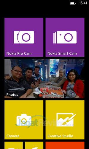 Nokia Lumia 1020 - Start Screen