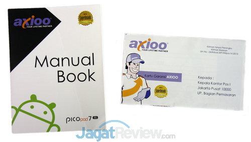 Paket Penjualan Axioo Picopad 7