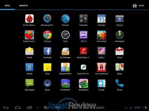 SS OS Axioo PICOpad 7 3G (5)