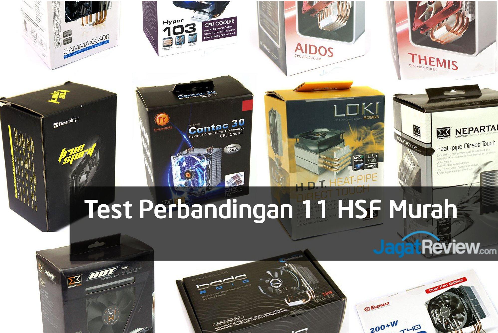 Tes Perbandingan 11 Heatsink Prosesor Murah Jagat Review Kipas Fan Processor Cpu Cooler King For Intel Lga 775