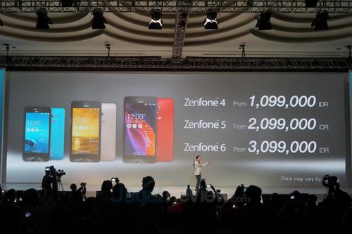ZenFone Harga