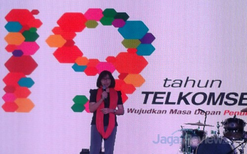 Kristin T Rosa, GM Loyalty and Merchant Telkomsel