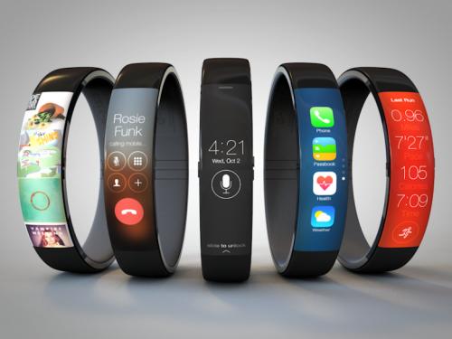 Apple iWatch concept by UI designer Todd Hamilton
