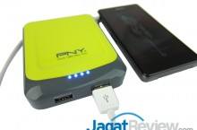 Hands-On Review Power Bank PNY Sporty Series Power-78S: Power Bank Berdesain..