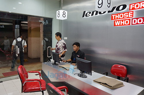 Lenovo Service Center - Lantai basement
