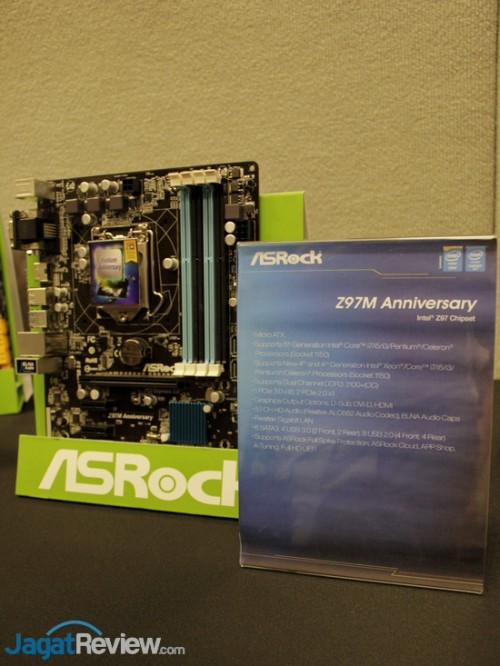ASRock - Computex 2014 - 04 - Z97M Anniversary