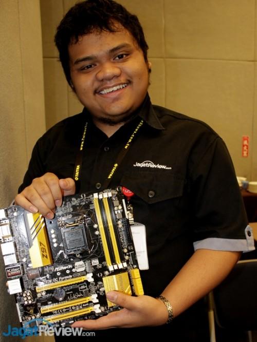 ASRock - Computex 2014 - 05 - Z97M OC Formula