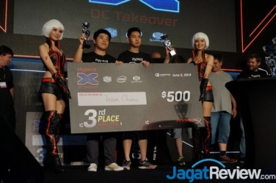 Third Place : Team China