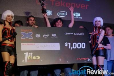 First place : Team Gigabyte