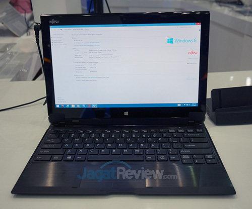 Intel Booth Raid - 2 in 1 Fujitsu Q704