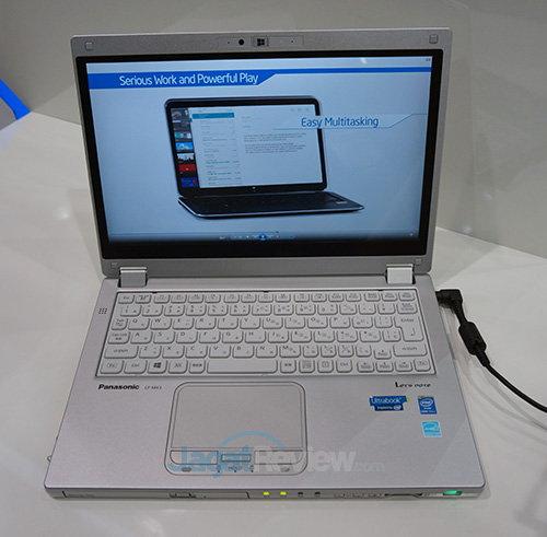Intel Booth Raid - 2 in 1 Panasonic CF-MX3