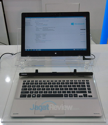 Intel Booth Raid - 2 in 1 Toshiba Hellios