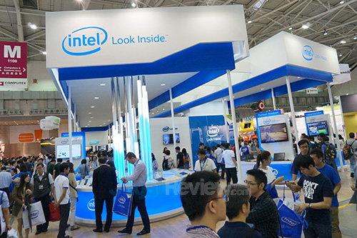 Intel Booth Raid - Booth