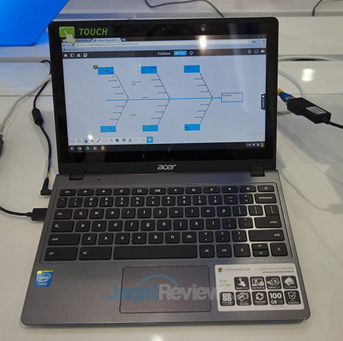 Intel Booth Raid - Chrome OS ACER C720P