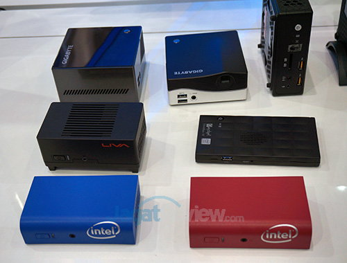 Intel Booth Raid - Desktop Reinvented NUC New Model