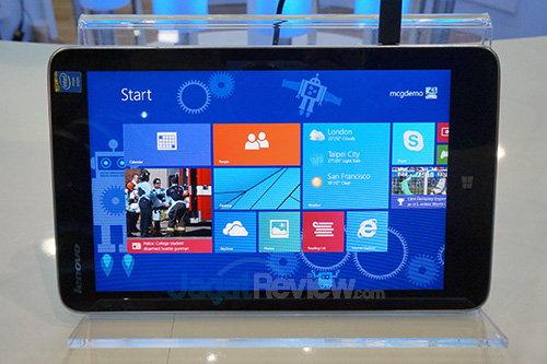 Intel Booth Raid - Lenovo Miix 2 8