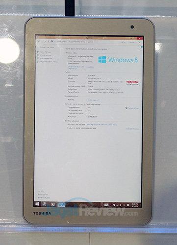 Intel Booth Raid - Toshiba Encore TM2 WT8