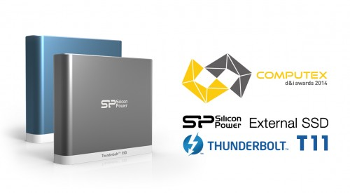SPPR_COMPUTEX d&i awards 2014_Thunder T11 External SSD