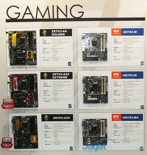 booth raid ecs gaming motherboard