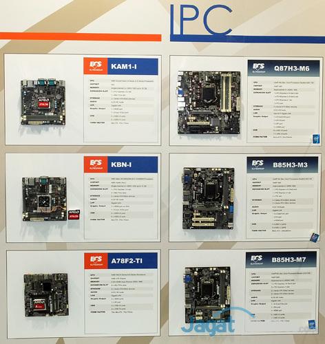 booth raid ecs multimedia & ipc motherboard