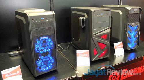 booth raid enermax fulmo.q & skalene & thorex