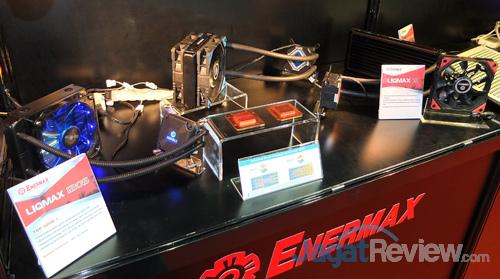 booth raid enermax liqmax