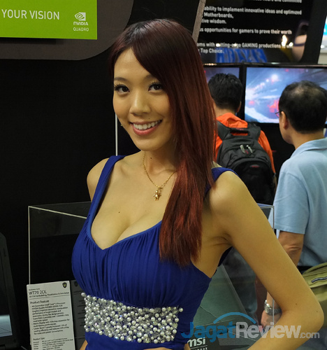 boothbabes @computex2014 day3 02