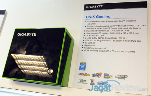 gigabyte brix gaming nvidia gtx 760