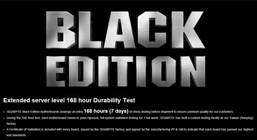gigabyte computex 2014 ultra durable black test method