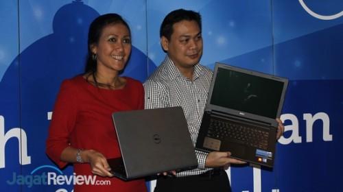 Pwerwakilan dari Dell memperkenalkan Inspiron 3000 dan Insiron 5000 terbaru.