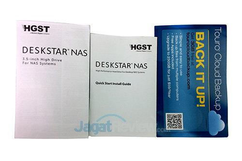 HGST Deskstar NAS - Dokumentasi