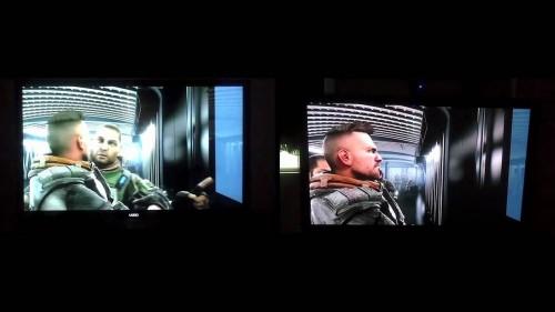 Kiri:TV  LCD Kanan: TV Plasma