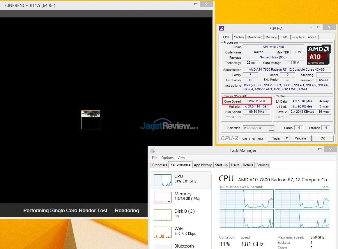 Hands-on Review AMD APU A10-7800: Kaveri Dengan Fitur cTDP   Jagat