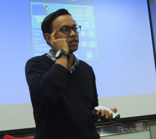 Dodi Ibnu Rusydi, Country Editor Yahoo Indonesia, menjelaskan tentang ketiga aplikasi baru dari Yahoo!