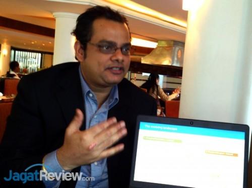 Kumar Mitra - GM Data Protection untuk Asia-Pasific & Japan, memberikan penjelasan terkait solusi backup-recovery dari Dell.