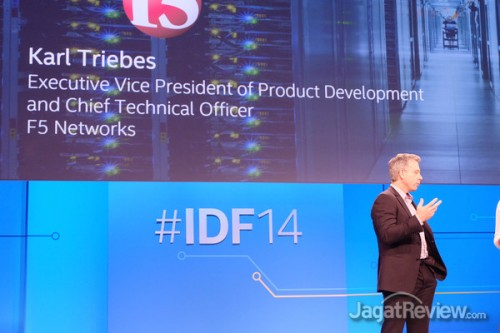 CTO dari F5 Networks memberikan testimoni terkait ketertarikan mereka terhadap jajaran Xeon baru dari Intel.