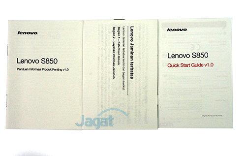 Lenovo S850 - Manual dan Dokumen