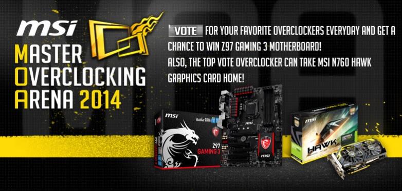 MOA 2014 Vote