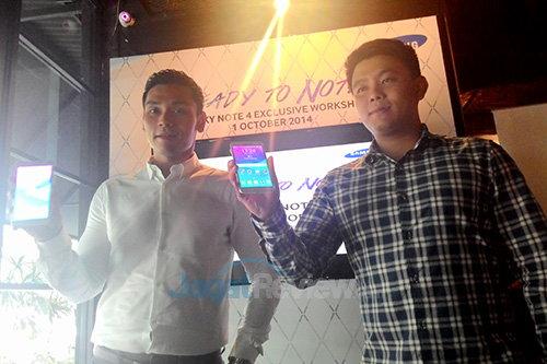 Samsung Galaxy Note 4 - Showed