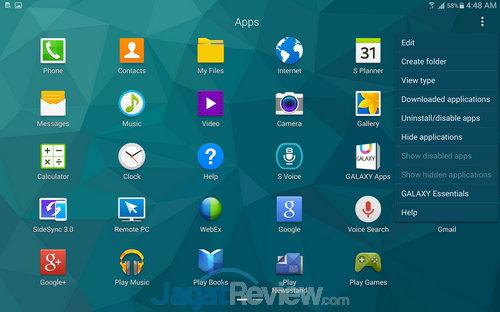 Samsung Galaxy Tab S SS OS (15)