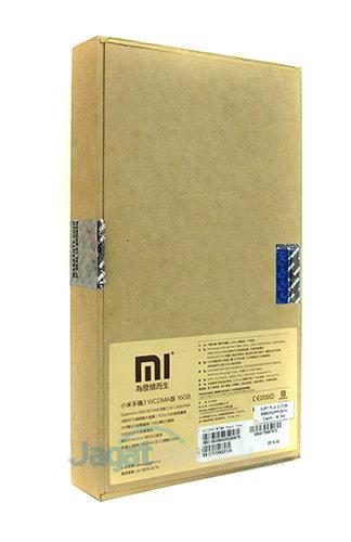 Xiaomi Mi3 - Paket Penjualan Belakang