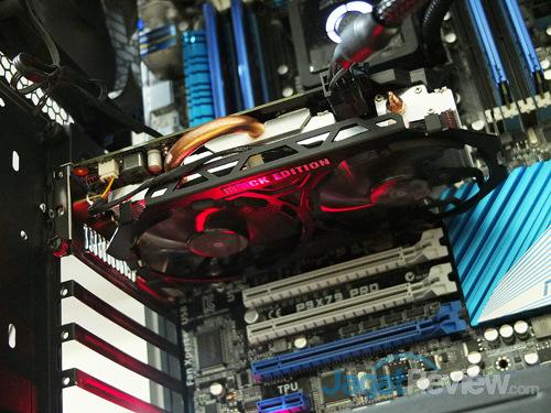 gigabyte gtx 750 ti black edition on system